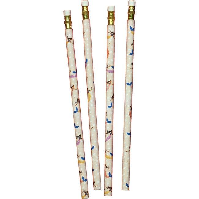 Set of 4 Pencils, Mermaids