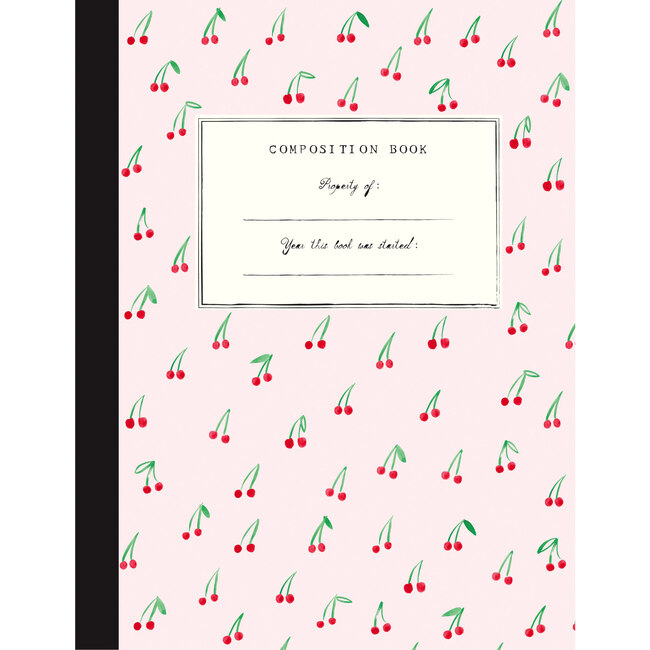 Composition Book, Cherries