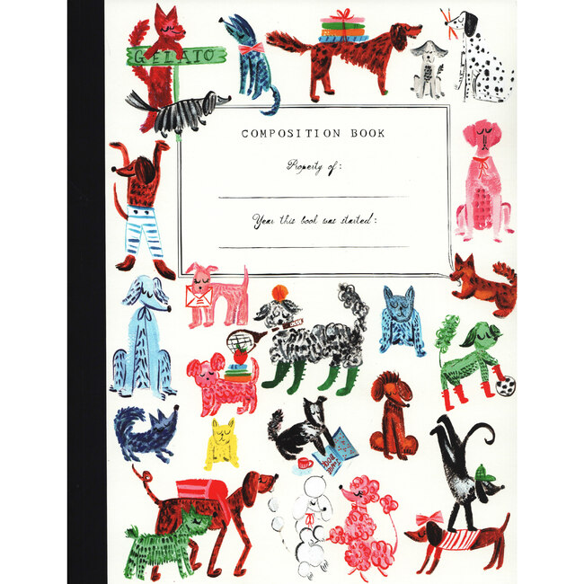 Composition Book, Pup Party