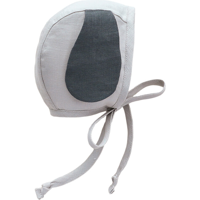 Petite Puppy Bonnet, Grey