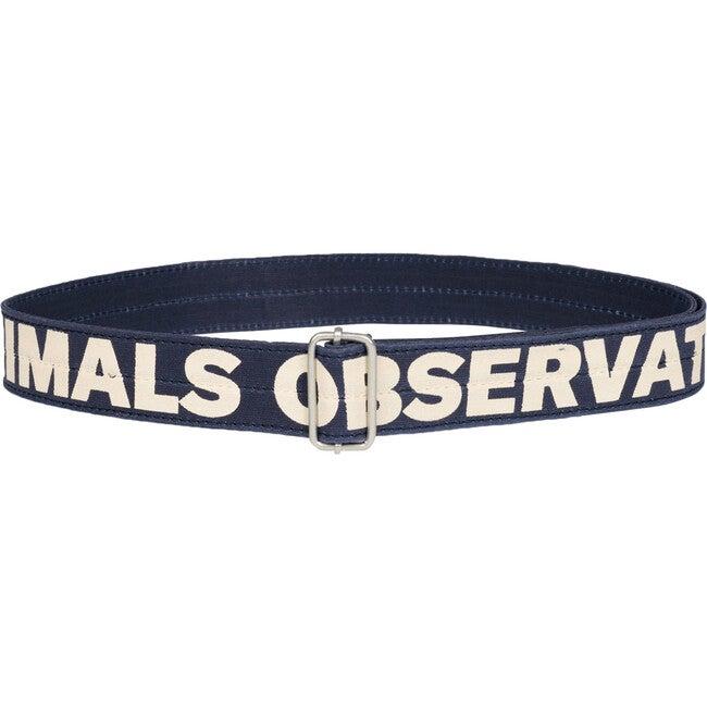 Lizard Belt, Navy Blue The Animals