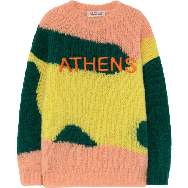 City Bull Sweater, Yellow Athens