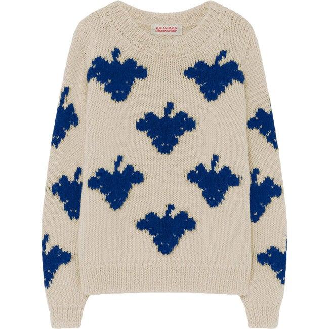 Arty Bull Sweater, Raw White