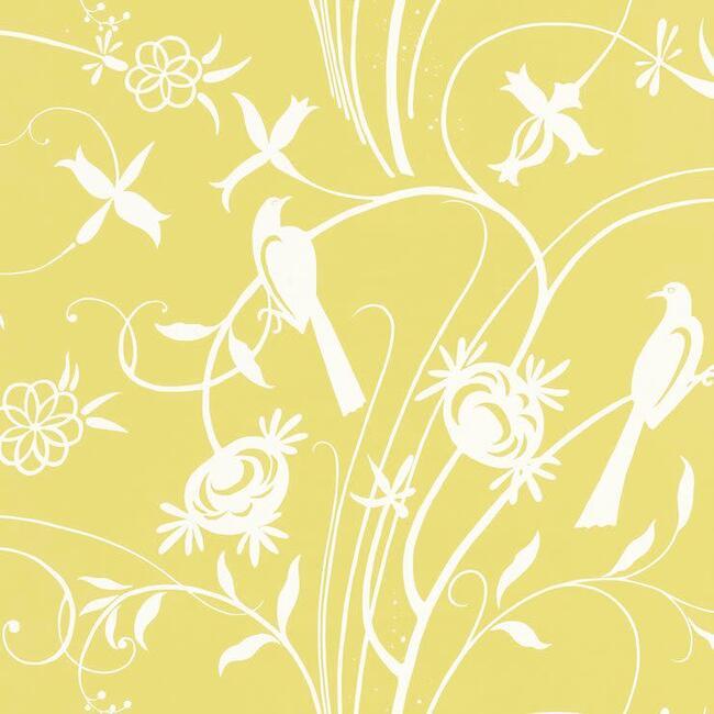 Sky Meadow Wallpaper, Yellow