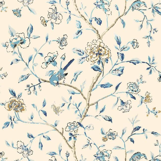 Annabelle Vine, Wallpaper, Porcelain