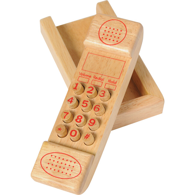 Push Button Phone, Tan - Games - 1
