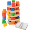3-D Geometric Stacker - Stackers - 1 - thumbnail