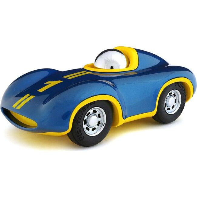 Blue Mini Speedy Le Mans Race Car