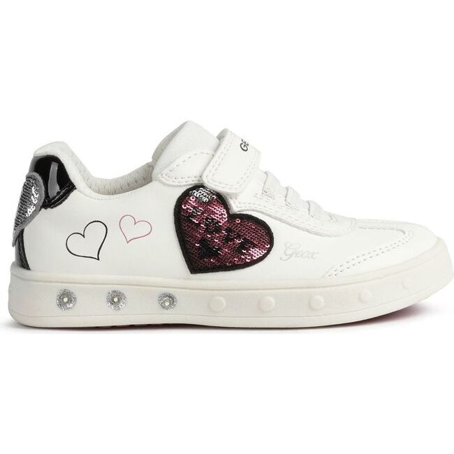 Skylin Hearts Sneakers, White