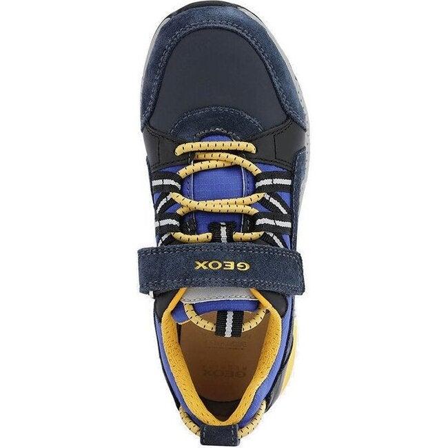 Alben Sneakers, Navy Yellow