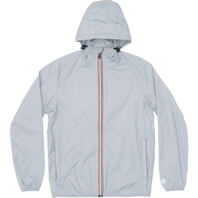 Women's Sloane Packable Rain Jacket, Celestial Blue - Raincoats - 1