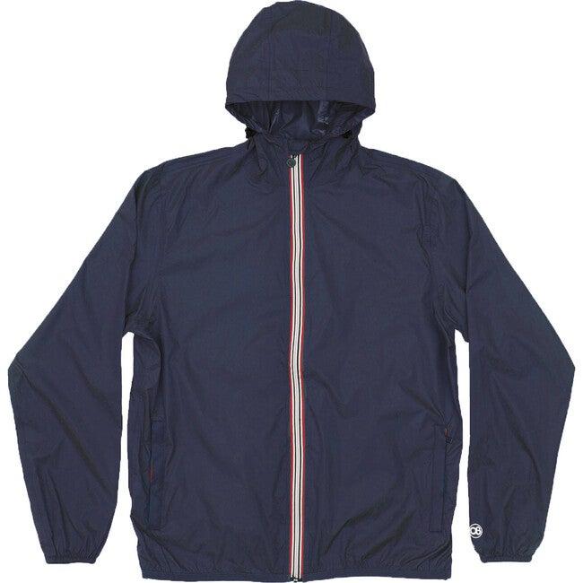Women's Sloane Packable Rain Jacket, Navy - Raincoats - 1