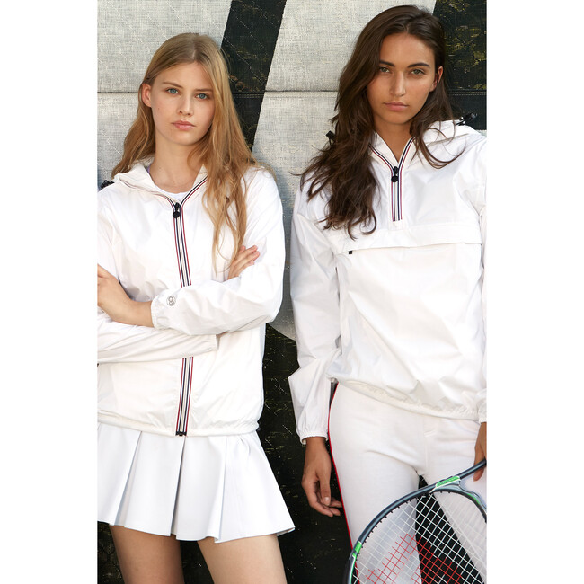 Women's Sloane Packable Rain Jacket, White