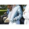 Women's Sloane Packable Rain Jacket, Celestial Blue - Raincoats - 2