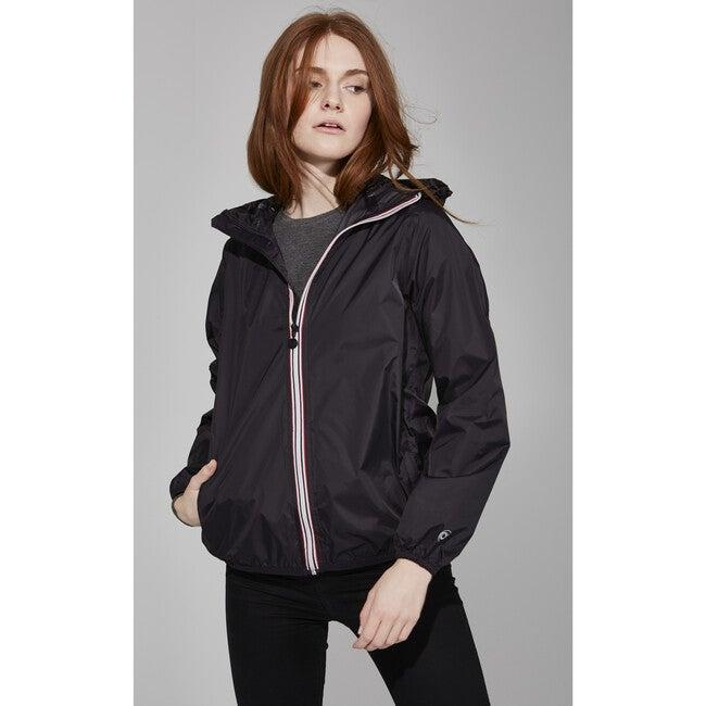 Women's Sloane Packable Rain Jacket, Black