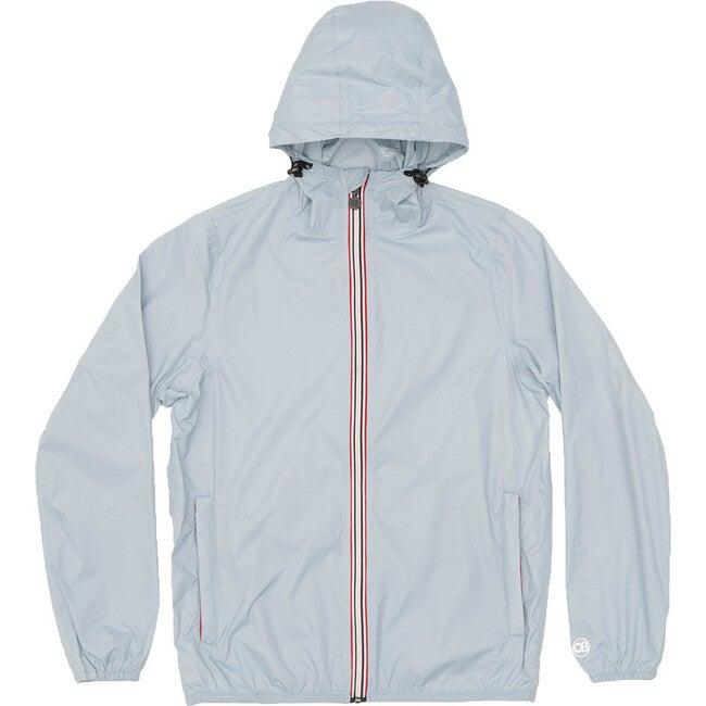 Sam Packable Rain Jacket, Celestial Blue