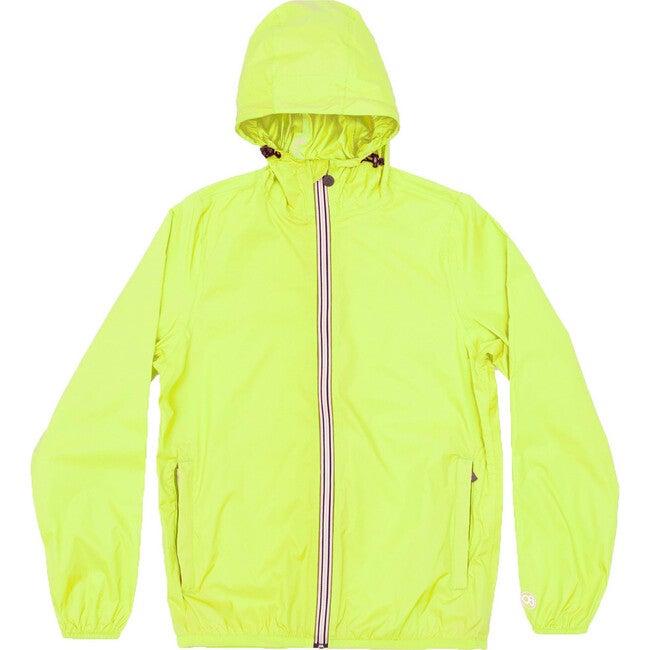 Men's Max Packable Rain Jacket, Citrus - Raincoats - 1