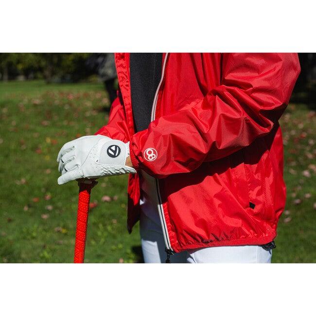 Men's Max Packable Rain Jacket, Red