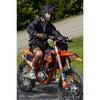 Men's Max Print Packable Rain Jacket, Black Camo - Raincoats - 2