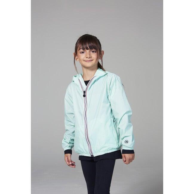 Sam Packable Rain Jacket, Mint
