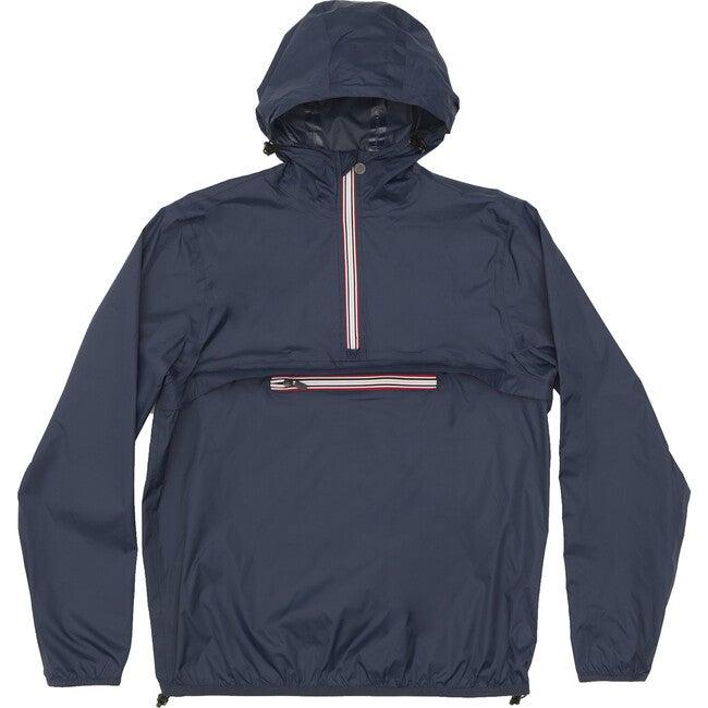 Adult Unisex Alex Packable Rain Jacket, Navy