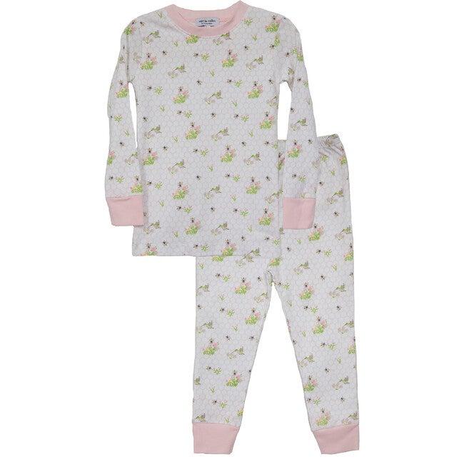 Birds and Bees Two Piece Pajamas - Pajamas - 1