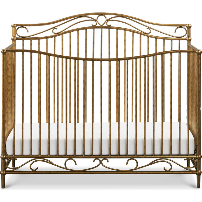 Noelle 4-in-1 Convertible Crib, Vintage Gold