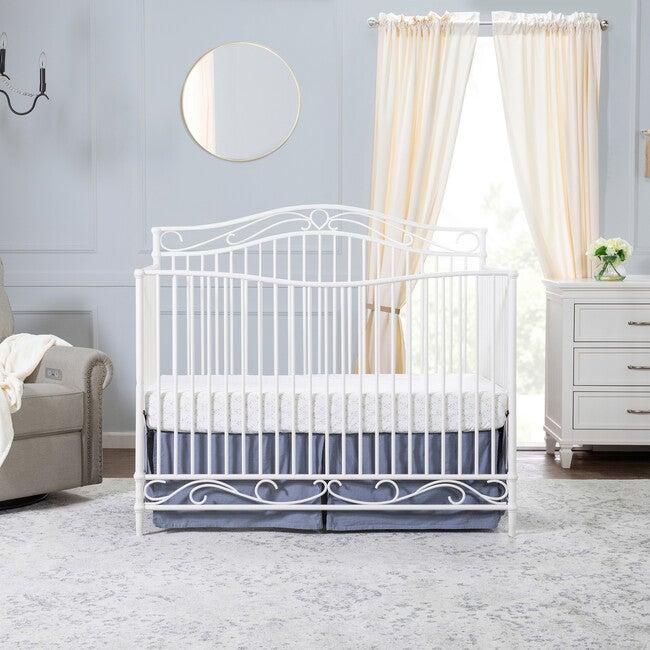 Noelle 4-in-1 Convertible Crib, Vintage White