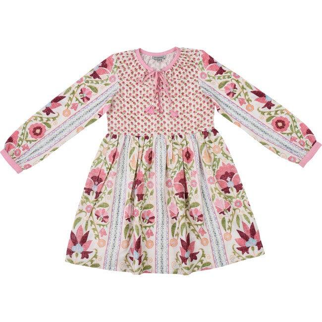 *Exclusive* Gujjar Dress, Pink & Green