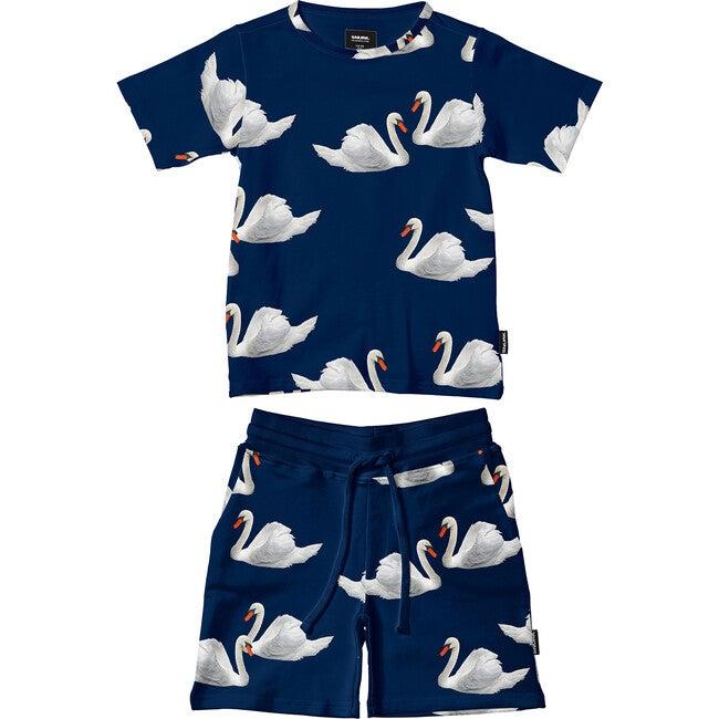 *Exclusive* Swan Lake T-Shirt/Short Set