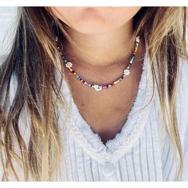 Women's Flower Girl Necklace