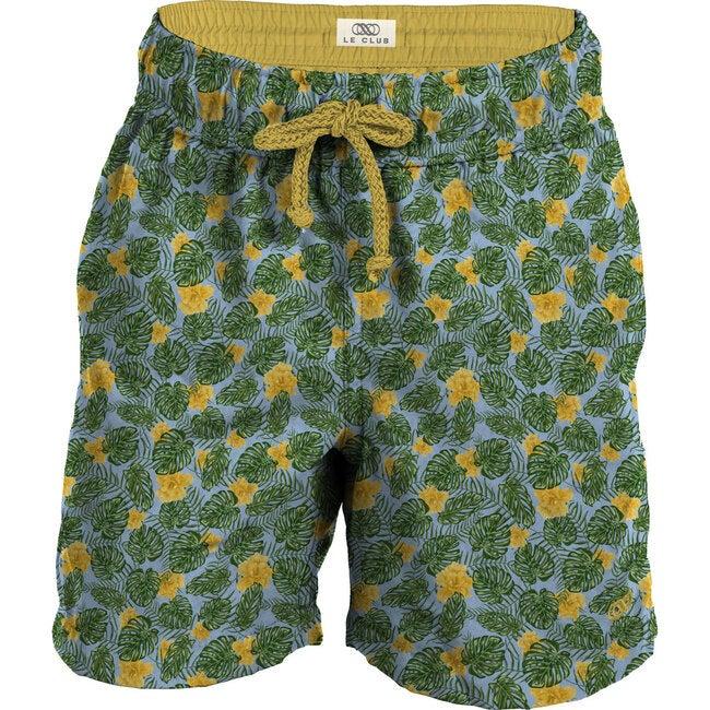 Palma Azul Boys Swim Trunks