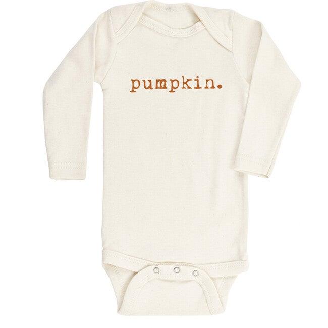 Pumpkin Long Sleeve Bodysuit