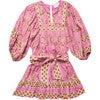 Women's Magdalena Mini Dress, Wildflower Print - Dresses - 1 - thumbnail