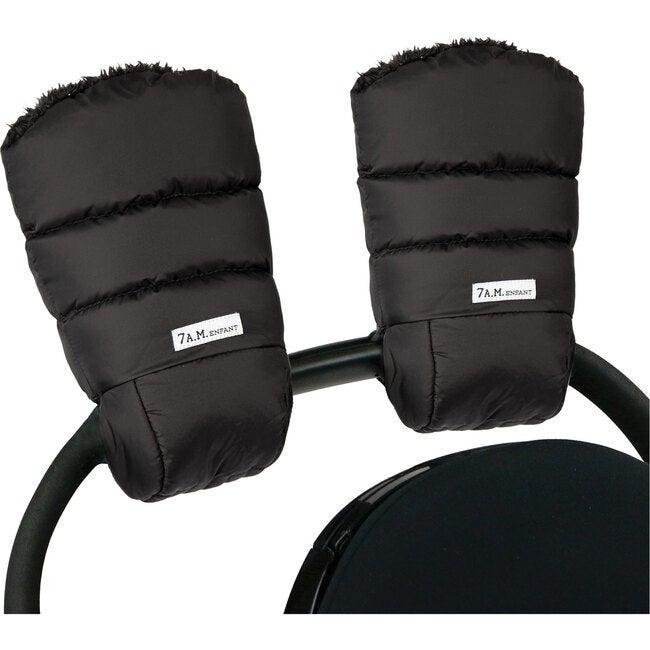 Warmmuffs, Black Plush