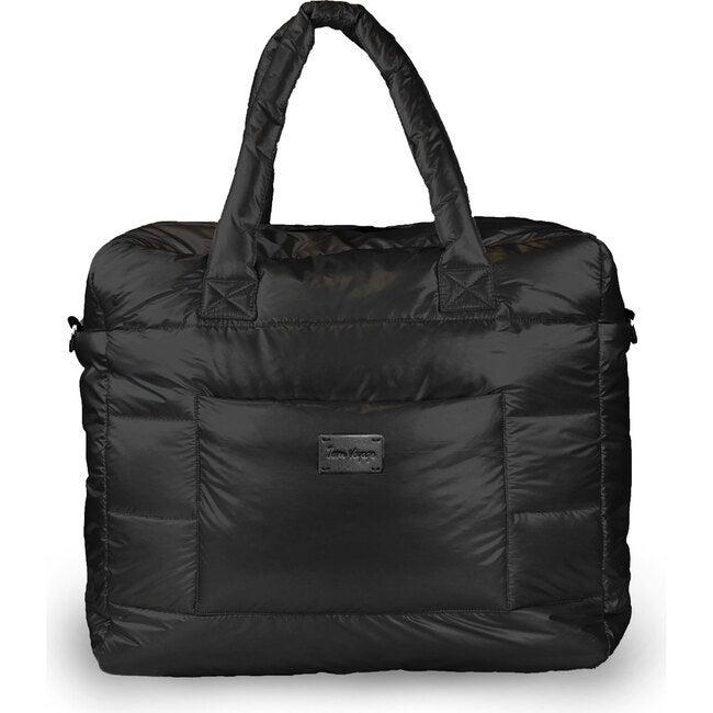 Plaza Weekender Diaper Bag, Black
