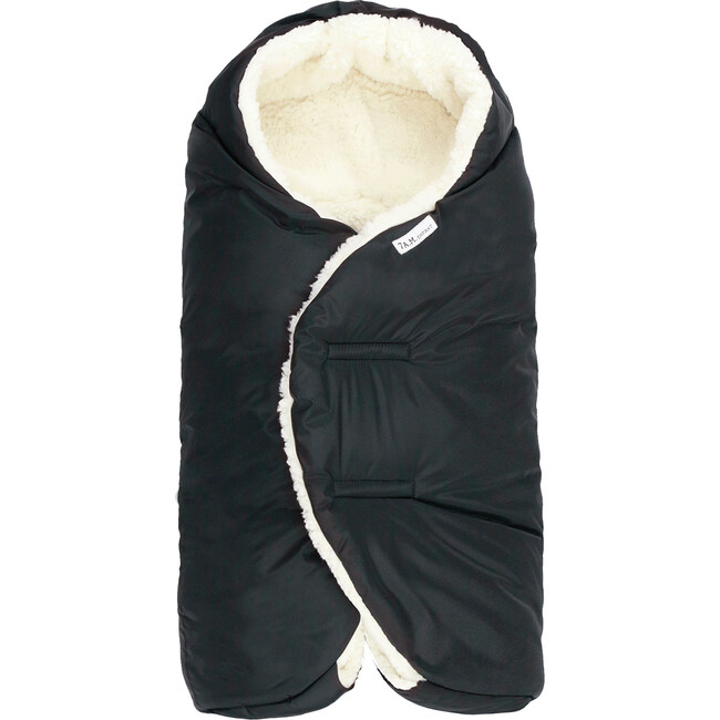 Nido Cloud Heavyweight Infant Wrap, Black Cloud