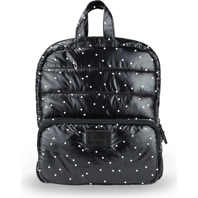 Mini Backpack, Black Petit Pois