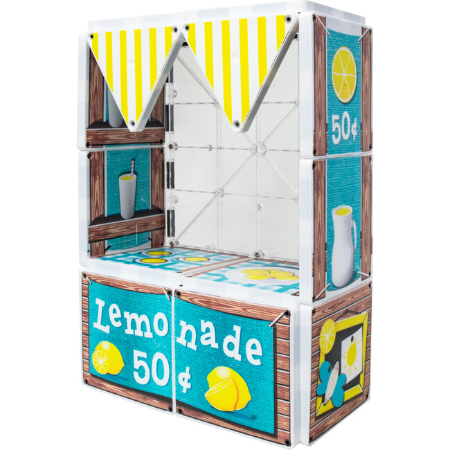 Dollars & Cents Lemonade Stand Magna-Tiles Structures