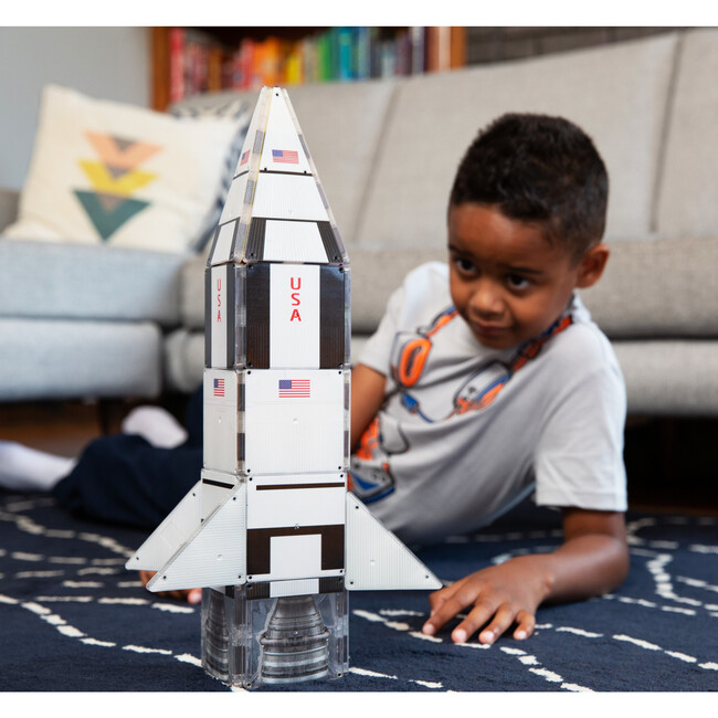 Galaxy Spaceship Magna-Tiles Structures
