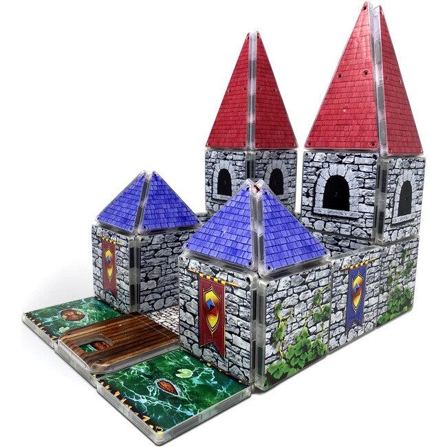 Royal Castle Magna-Tiles Structures