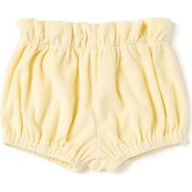 Baby Terry Cloth Bloomers, Yellow