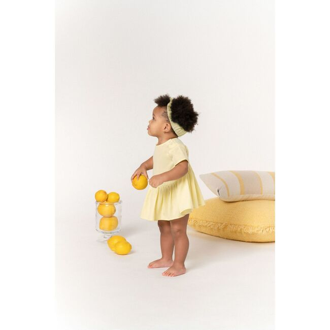 Baby Hi-Low Drop Waist Dress, Yellow