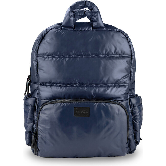 Diaper Backpack, Navy - Diaper Bags - 1