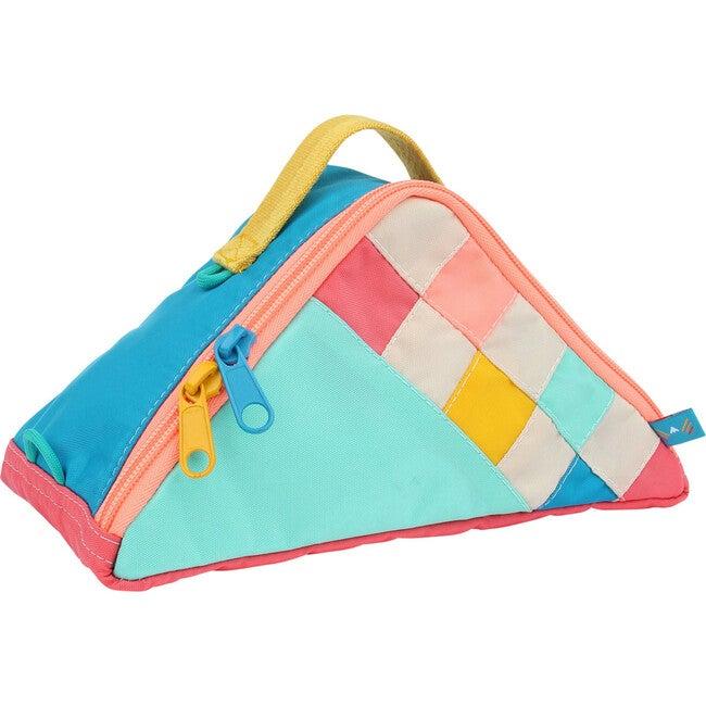 Dreamscape Checker Triangle Pouch - Bags - 1