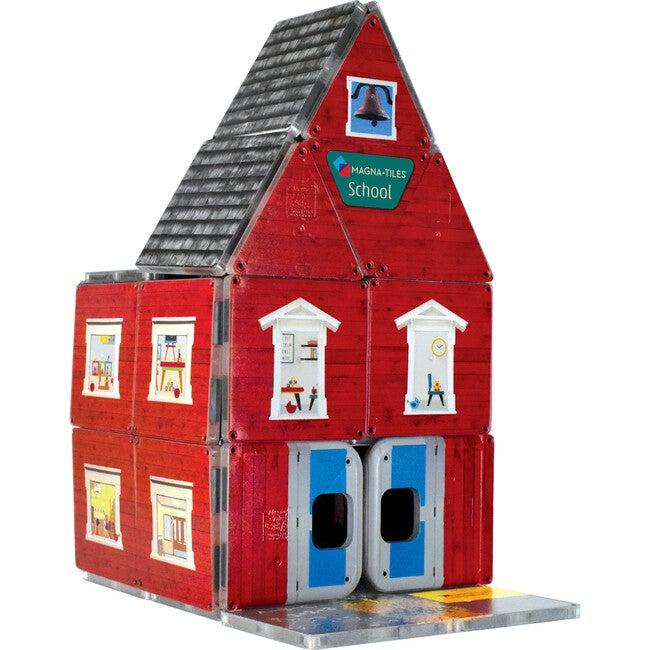 ABC Schoolhouse Magna-Tiles Structures