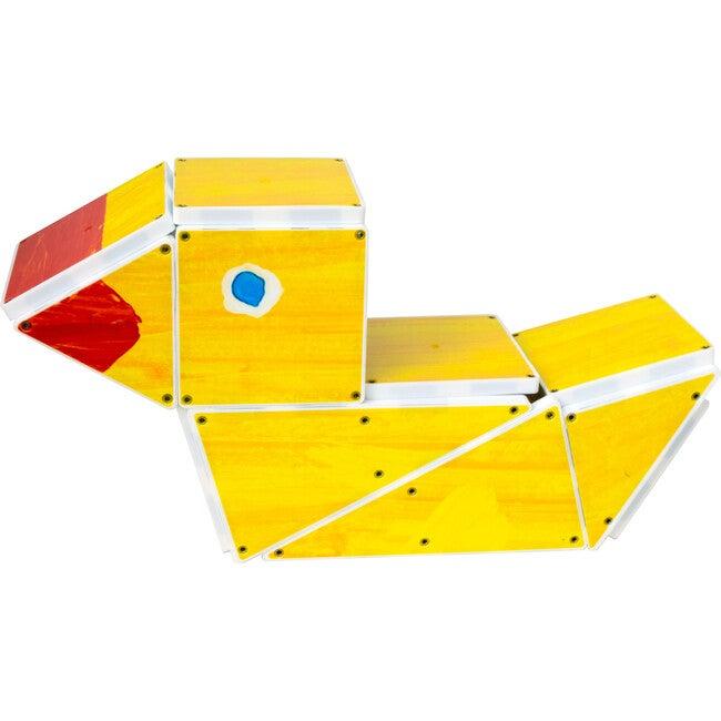 10 Little Rubber Ducks Magna-Tiles Structures - STEM Toys - 1