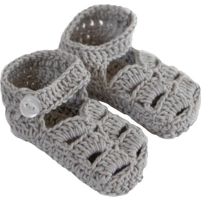 Sandal Knitties, Grey