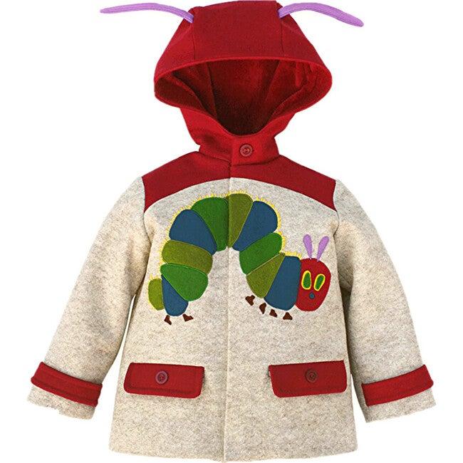 The Very Hungry Caterpillar™ Coat, Heather Oatmeal - Wool Coats - 1
