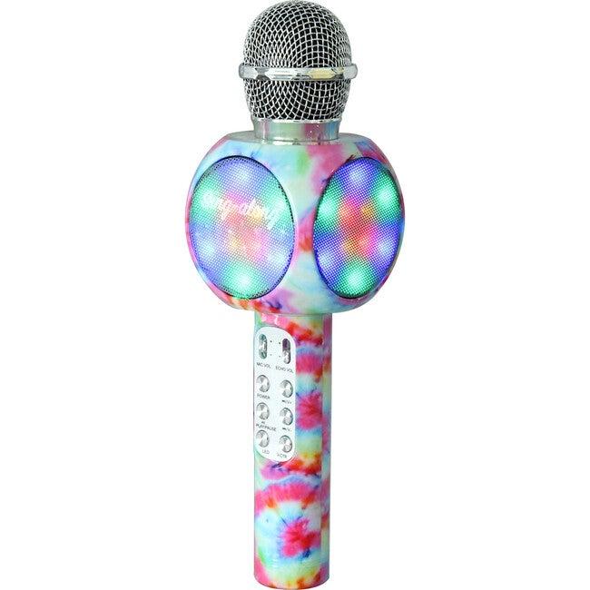 Sing-along Bluetooth Karaoke Microphone, Tie Dye